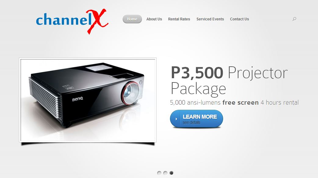 Channel X Projector Rentals