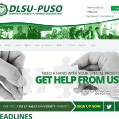 DLSU PUSO Website